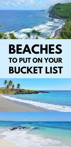 best beaches. places to visit to add to your world bucket list. dream vacations Hawaii Vacation, Hawaii Travel, Beach Trip, Dream Vacations, Hawaii Volcanoes National Park, Volcano National Park, Green Sand Beach, Kona Coast, Best Snorkeling