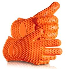 2017 Hot Sale BBQ Grilling Gloves Oven Mitts Gloves for Cooking Baking Barbecue Potholder (orange): Oven Mitts Gloves are thick and sturdy silicone but still easy to work with on your hands. Grill Oven, Bbq Grill, Barbecue Smoker, Chef Grill, Weber Grill, Cast Iron Griddle, Heat Resistant Gloves, Best Oven, Smoking Accessories