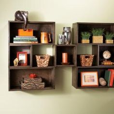 Box shelves are inexpensive, easy to make and highly versatile. Make the combination of sizes and depths you need for any room, from the living room to the laundry. Box construction techniques are always the same.