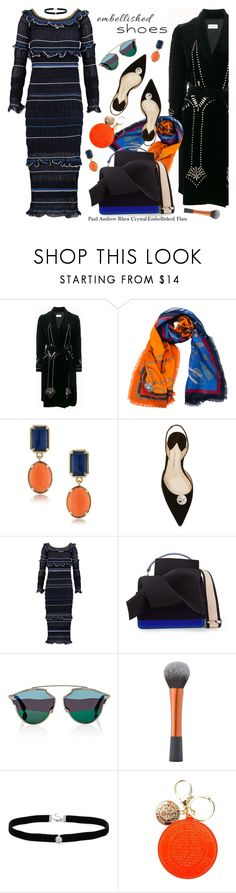 """Magic Slippers: Embellished Shoes"" by esch103 ❤ liked on Polyvore featuring Dries Van Noten, Franco Ferrari, 1st & Gorgeous by Carolee, Paul Andrew, Peter Pilotto, N°21, Christian Dior, Amanda Rose Collection, Louis Vuitton and embellishedshoes"