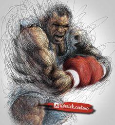 Mike Tyson - street fighter version #miketyson #balrog #boxing #legend