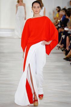 Ralph Lauren Spring 2016 Ready-to-Wear Fashion Show - Bruna Tenorio