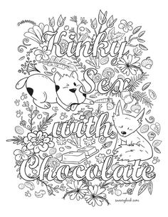 Pin by Tamie White on Swear Words Adult Coloring Pages ...