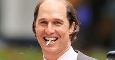 Matthew McConaughey is balding with a beer belly for his new film http://huff.to/1LdJmW9