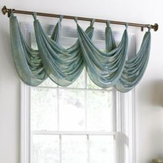 Valencia Loop Waterfall Valance Found At @JCPenney · Swag CurtainsWindow  ValancesWindow CoveringsWindow TreatmentsHanging ...