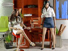 Satin Shirt, Shirt Skirt, Secretary, Action Figures, Leather Skirt, Skirt Set, Scale, Dolls, Shirts