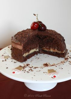 Pocak Panna paleo konyhája: Delux paleo ganázs torta (paleo, xilittel)