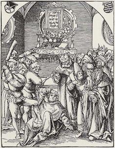 Artist: Cranach d. Ä., Lucas, Title: »Martyrium der zwölf Apostel«, Hl. Judas Thaddäus, Date: ca. 1512