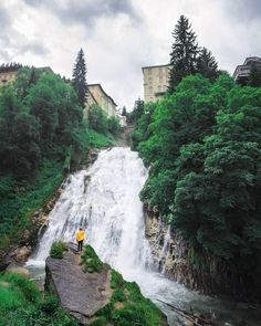 Have you ever been at the Bad Gastein Waterfall?If not, you definitely missed something out Have You Ever, Waterfall, River, Outdoor, Instagram, Outdoors, Waterfalls, Outdoor Games, Outdoor Living