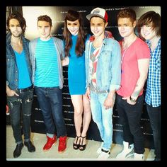 Karmin & Hot Chelle Rae all bringing the style!