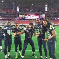 Super Seattle Seahawks!!!! #GoHawks #Back2Back #SuperBowlRePete