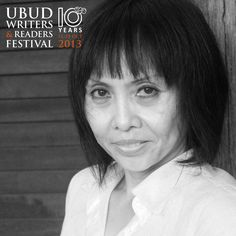 Oka Rusmini was born in Jakarta, and presently lives in Denpasar, Bali. Oka is a poet and novelist who has spoken at various national and international literary forums. Oka represented Indonesia at the Winternachten Literature Festival in The Hague and Amsterdam, the Netherlands. She was invited as a guest author at the University of Hamburg, Germany (2003) and Singapore Writers Festival (2011). In 2012, Oka Rusmini received The S.E.A. Write Award in Bangkok, Thailand. #writer #UWRF13…