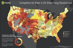 Hydraulic Fracturing Faces Growing Competition for Water Supplies in Water-Stressed Regions