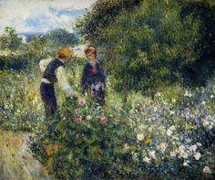 Portrait of Claude Renoir - Pierre-Auguste Renoir