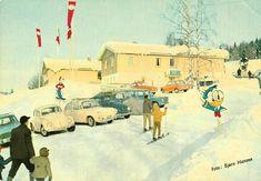 Akershus fylke Hurdal kommune Hurdal Ski og Friluftsenter Utg Bjørn Hansen 1960-tallet med Donald Duck