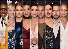 Entertainment Weekly  People Mag Upfronts Party Red Carpet Rundown