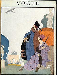 Vintage Vogue Covers  1918- 1938