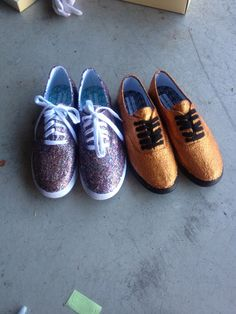 DIY: Glitter Shoes!   Cable Cars and Cornflakes