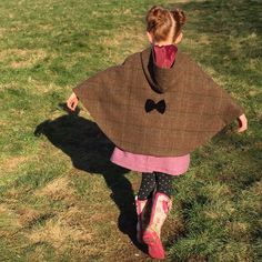 Shetland wool cape, style and warmth