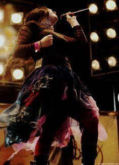 "demarzi: ""Evanescence Challenge: Best Photos of Amy Lee (10/50) """