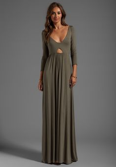 RACHEL PALLY Dakota Maxi Dress in Thyme - Dresses