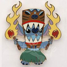 Need this! Stitch belongs in my life and noone else's! (Tiki Dance LE 250)