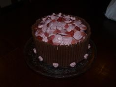 Percy Pig Cupcakes Cake By CupcakesbyLouise Cakes Pinterest - Owl percy pig birthday cake