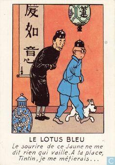 - Tintin - Le lotus bleu