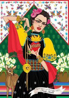 FRIDA KAHLO by Fernanda Guedes