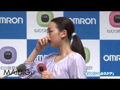 浅田真央登場!「オムロン ヘルスケア」新商品発表イベント 囲み - YouTube
