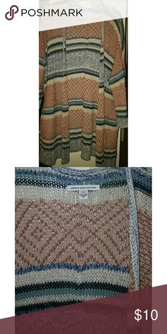American Eagle Sweater Cardigan mix cable sweater American Eagle Outfitters Sweaters Cardigans