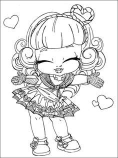 C.A Cupid Monster High a imprimer   Coloriage à imprimer gratuit