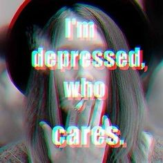 No one. I'm also OCD and have series anxiety and self-hate issues.