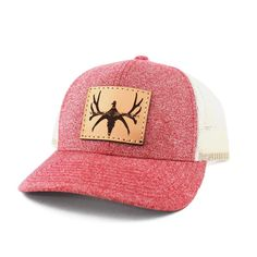 8e7dc1a670a Women s Leather Patch WACKNSTACK Logo Hat  29.98 Hunting Clothes