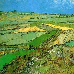 House Landscape, Landscape Art, Landscape Paintings, Vincent Van Gogh, Van Gogh Pinturas, Van Gogh Landscapes, Van Gogh Art, Van Gogh Paintings, Gravure