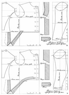 Costume Patterns, Coat Patterns, Clothing Patterns, Historical Costume, Historical Clothing, Japanese Sewing Patterns, Military Dresses, Medieval Costume, Dress Tutorials