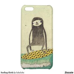 Surfing Sloth Case For The iPhone 5