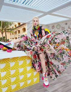 "Duchess Dior: ""Miami's Magical Madness"" by Luis Monteiro for How to Spend It Magazine 2016"