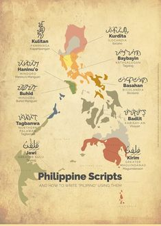 Learning Baybayin: A Writing System from the Philippines Regions Of The Philippines, Voyage Philippines, Philippines Culture, Manila Philippines, Filipino Words, Filipino Art, Filipino Culture, Filipino Memes, Philippine Mythology