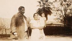 BOB & MRS MCGEE & LITTLE MARY NEJO/ CUPENO OR LUISENOS/ S. CALIF./ MRS. INGRAHAM'S 1ST HUSBAND WAS A NEJO.