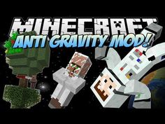 Mod for Joey's laptop Minecraft | ANTI GRAVITY MOD! (Create your own PLANETS!) | Mod Showcase - YouTube