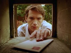 Has anyone ever written James a letter? The Moving Finger, Agatha Christie's Marple, James D'arcy, Miss Marple, English Village, Eye Candy, Lettering, Afro, Board