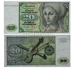 Description: A nice very fine banknote from the Germany. This is the 2 January 1980 twenty Deutsche marks currency note from the German Federal Republic. The banknote is black on green on multicolor u D Mark, Jesus Is Coming, Make Money Now, Albrecht Durer, Native Indian, Foreign Coins, Graffiti, Germany, Photo And Video