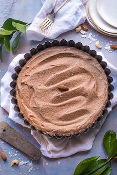 Dark Chocolate Cheesecake (Raw Vegan)
