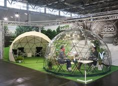 Garden Igloo, German design, geodesic dome, geodesic geometry, igloo-shaped structure, igloo architecture, lightweight architecture, outdoor furniture, transforming furniture, green design, recycled materials