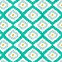 Ikat in Turquoise #ikat #prints #fabrics #textiles #interior_design [www.itma-showtime.com]