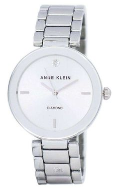 Features:  Metal Case Alloy Bracelet Quartz Movement Mineral Crystal Silver Dial Analog Display Diamond At 12 O' clock Position Pull/Push Crown Jewelry Clasp 30M Water Resistance  Approximate Case Diameter: 32mm Approximate Case Thickness: 8mm