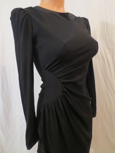 ANI LEE Overture Jillian Dress 0 XS - new with tag - $29.99 at JOHNNY BOMBSHELL #lbd #cocktail #holiday #black