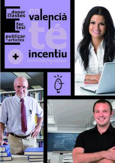 Incentius als materials docents i a les tesis doctorals en valencià i en anglès