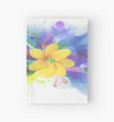 Watercolor Lily  Garden by JMarielle